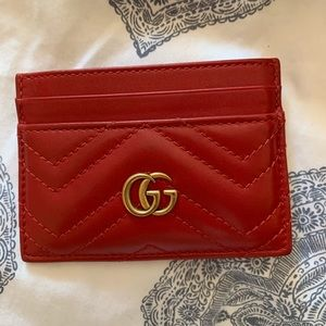 Gucci Marmont Card Holder Wallet
